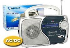 SanSai RD-768 AM/FM Portable Radio - Silver