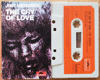 JIMI HENDRIX - THE CRY OF LOVE (POLYDOR 3194025) 1971 UK CASSETTE TAPE EX!