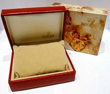 ORIGINAL ROLEX BOX für ARMBANDUHREN - ROT - Ref. 14.00.02 ca. 1980er Jahre