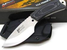 Couteau de Cou MTech Xtreme Lame Acier 440C Manche Micarta Etui Kydex MTX8035