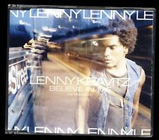Lenny Kravitz-BELIEVE IN ME-yeaterday Is Gone-a millions Miles... CD SINGLE