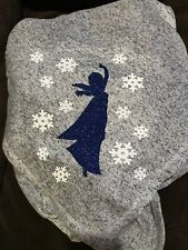 Frozen Elsa 50 X 60 Fleece Throw. Can Be Personalized!