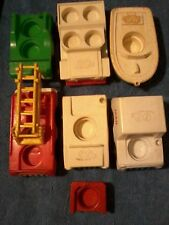 60/70 Fisher Price Toys Vintage Vehicle Lot of 7 (Used)