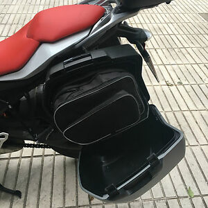 Pannier Liner Inner Luggage Bags to fit BMW F800GT Touring 2013 Onward Pair Bike