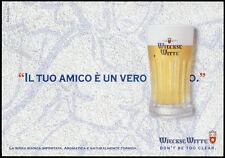 cartolina pubblicitaria PROMOCARD n.3693 WIECKSE WITTE BIRRA BEER