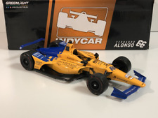 Fernando Alonso 66 Indycar 1:18 Scale Greenlight 11061