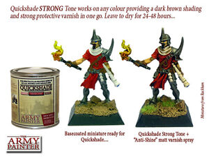 STRONG TONE QUICKSHADE - THE ARMY PAINTER - SENT FIRST CLASS - QS1002