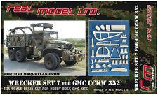 Wrecker set 7 for GMC CCKW 352 1/35 Real Model resin RM35153 Hobbyboss