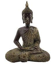 Buddha Ornament Statue Figurine Sculpture Mediating Spiritual Home Décor *27 cm*