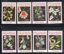 Uganda 747-54 Flowers Mint NH