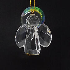 """Celebrations Crystal Clear 2"""" Reflection Angel Hanging Ornament"""