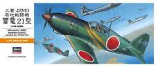 Mitsubishi J2M3 Raiden/Jack (japonés af marcas) #135 1/72 Hasegawa! Raro!