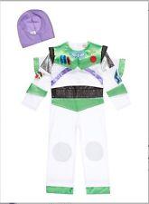 Disney Toy Story Buzz Lightyear Complete Costume Wings & Helmet age 7/8 Years