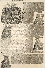 Schedel Weltchronik Blatt 158 Nuremberg Chronicles 1493 Lambertus Synode Emperor