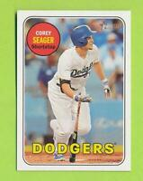 2018 Topps Heritage SP Action Variation - Corey Seager (#45) Los Angeles Dodgers