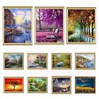 "New DIY Paint By Number 16""*20"" Fall In Love Painting kit On Canvas Home Ornamen"