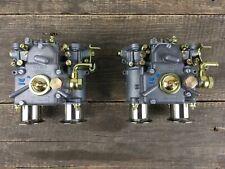 2x 40 DCOE 151 Weber Doppelvergaser mit Einlauftrichter Alfa Romeo BMW Vergaser