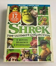 Shrek - The Ultimate Collection (Blu-ray + Digital, 7 Discs) *Brand New/Sealed*