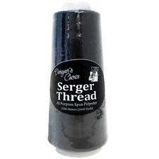 Allary Serger Thread 1640 Yards / 1500 Meters Polyester Black