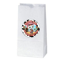 12 SHERIFF CALLIE Birthday TREAT BAGS with STICKERS (2.5 inches)