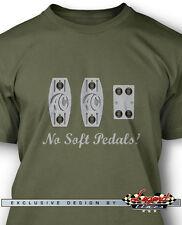 No Soft Pedals Men T-Shirt - Multiple Colors & Sizes - Shelby AC Cobra 427 289