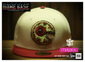 Rare New Era 59FIFTY Fitted Mishka Pizza Keep Watch