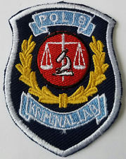 Polis Kriminal Lab Cloth Patch