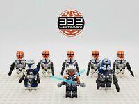 Star Wars 332nd Company Ahsoka Tano Rex Jesse 8 Minifigures Set Lot - USA SELLER