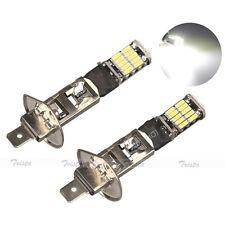 2x26 LED H1 White Car Auto Fog Driving Light Canbus Head Light P14.5S Lamp #AU