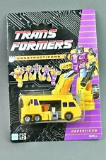 Transformers G1 Hook Devastator MOSC European UK Version