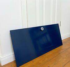USM Haller Klapptür Tür 75 x 35 cm Blau Stahlblau inkl. Schloss