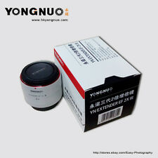 Yongnuo YN-2.0X III Teleconverter Extender Auto Focus Lens f Canon EOS EF Lens