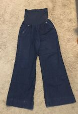 A Pea in the Pod Maternity Full Panel Jeans - Size Large