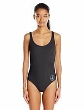 Body Glove Women's Smoothies U and Me One Piece Swimsuit, Black, SZ MEDIUM