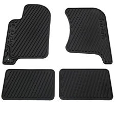 OEM 1998-2002 Subaru Forester All Weather Floor Mats Black Rubber NEW J5010FS500