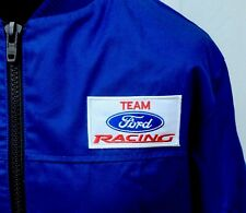 """Team Ford Racing Superb Classic Fully-Lined Badged Bomber Jacket 49"""" Chest BTCC"""