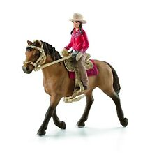 Schleich Western Rider Hand Painted Highly Detailed Saddle Bridle Horse Figure