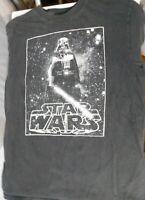 Star Wars Darth Vader Black Tee Adult Large