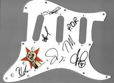 Prophets of Rage Tom Morello ++++ POR Signed Autographed Guitar Pickguard COA