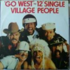 """Village People Go West , Citizens Of The World Ulk 12"""""""