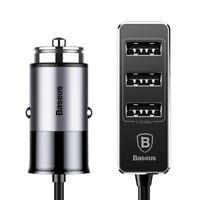 Caricabatterie automobile Baseus 4 porte USB pr Huawei p8 p8 lite e 2017 F629