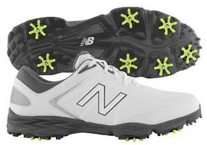 New Balance Striker Golf Shoes NBG2005WGY White/Grey Men's 2018 New