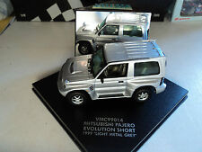 Vitesse 1/43 Mitsubishi Pajero Evolution Short 1999 light metal grey