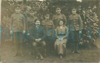 WW1 Army Pay Corps and Hampshire regiment soldiers group photo