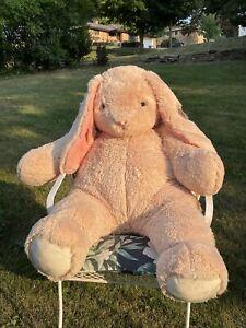 Huge Plush Bunny Rabbit VERMONT TEDDY BEAR Four Feet Tall