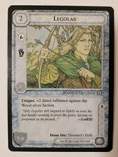 Middle Earth CCG LOTR The Wizards Limited LEGOLAS Card