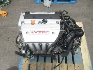 Honda Accord K24A 2.4L Engine TSX Engine K24A Type S Engine 200hp MRCA AWD Trans