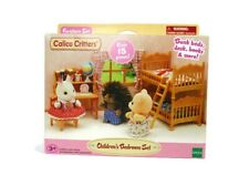 """Calico Critters """"Children's Bedroom Set"""" Over 15 Pieces by EPOCH (NIB)"""