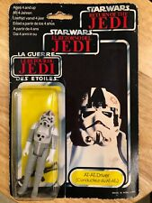 Star Wars AT-AT Driver Tri-Logo Palitoy Type 3 (Etched / Large bubble)