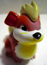 Tomy Nintendo Pokemon Growlithe Mini Figure Orange/Black Vintage Cgtsj Figurine